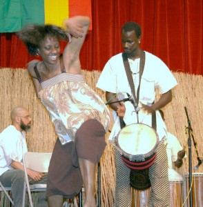 Thione Diop on Djembe